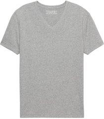 camiseta authentic vee gris banana republic