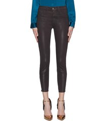 'margot' coated cropped skinny jeans