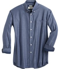joseph abboud blue diamond classic fit sport shirt