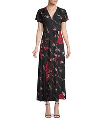 floral knee-length dress