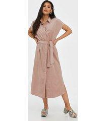 object collectors item objlevi s/s shirt dress a q loose fit dresses