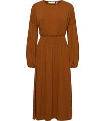 christeliw dress maxiklänning festklänning brun inwear