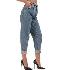 jeans gamba dritta donna