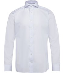 blue twill shirt skjorta business blå eton