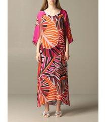 emilio pucci dress emilio pucci dress in printed chiffon
