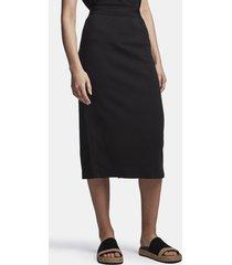 cotton ponte skirt