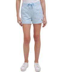 calvin klein jeans pull-on drawstring shorts