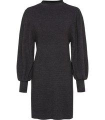 abito in maglia con maniche a palloncino (grigio) - bodyflirt