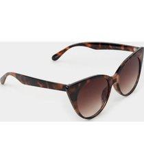 ryan tort cat eye sunglasses - tortoise