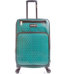 """dkny signature gems 25"""" spinner suitcase"""