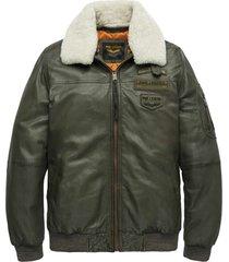 flight jacket air bridge army green