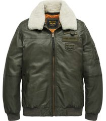 flight jacket air bridge army green