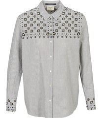 overhemd maison scotch button up shirt with bandana print