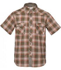 camisa mountain town verde militar lippi