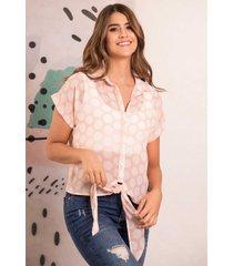 blusa deco rosa ragged pf12110499