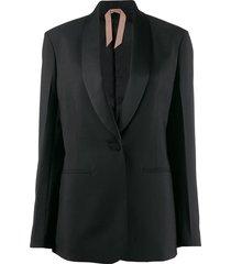 nº21 shawl collar blazer - black