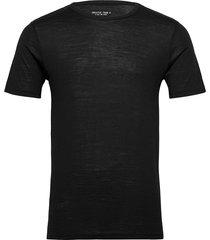gta curve wool tee crew t-shirts short-sleeved svart greater than a