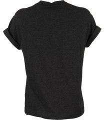 brunello cucinelli cotton crew neck t-shirt with monili