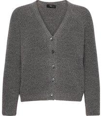berbice stickad tröja cardigan grå weekend max mara