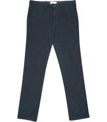 pantalón chino regular unicolor para hombre 03687
