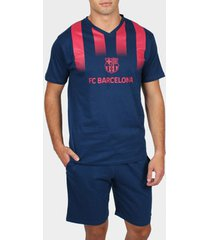 polo shirt korte mouw admas for men pyjama shorts t-shirt franjas fc barcelona admas