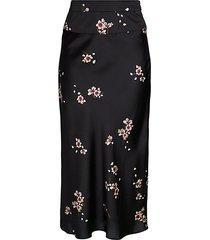 normani bias floral long skirt
