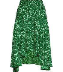 bali skirt knälång kjol grön lollys laundry