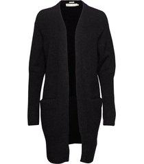 kiki short cardigan gebreide trui cardigan zwart inwear