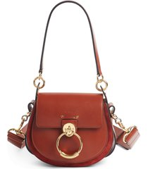 chloe small tess leather shoulder bag -