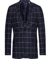 g2. the windowpane sports coat blazer kavaj blå gant