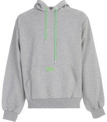 gcds maxi hooded sweatshirt
