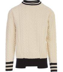 golden goose sweater over devon college style superfine wool