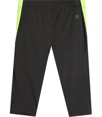leggings deportivo corto color verde, talla xs
