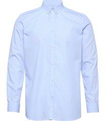upc perry poplin shirt skjorta casual blå les deux