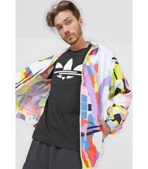 chaqueta multicolor adidas originals love unites