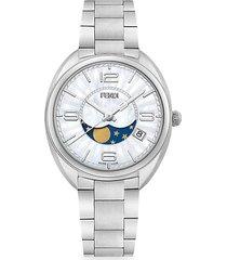 momento stainless steel bracelet watch