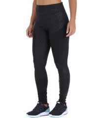 calça legging puma bold graphic fulltight - feminina - preto