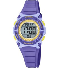 reloj digital crush morado calypso