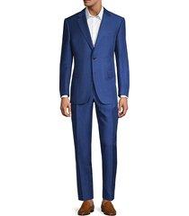 linen & silk textured suit