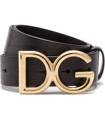 dolce & gabbana cuir leather belt