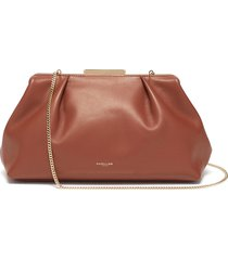 'florence' soft leather clutch