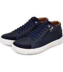 sapatênis br2 footwear casual botinha masculino - masculino