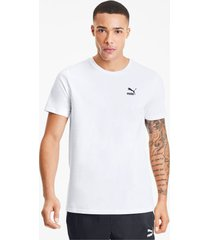 graphic tailored for sport t-shirt voor heren, wit/zwart/aucun, maat m | puma