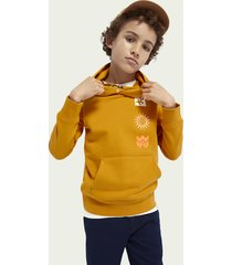 scotch & soda hoodie with inner collar