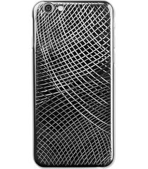 la mela women's lucertola iphone 6 & 6s case - black gold