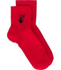 new logo ankle socks
