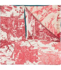 pierre-louis mascia aloesta double-sided scarf - red