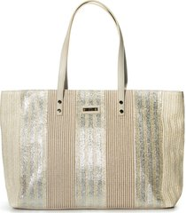 cartera beige xl extra large jenny tote