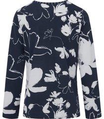 pyjama 100% katoen lange mouwen van rösch blauw