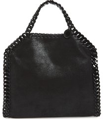 stella mccartney falabella shaggy deer faux leather tote -